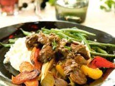 Sydfransk köttgryta med chorizo och linser