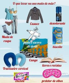 Aposte em uma boa mala de mão. | 16 dicas para arrumar suas malas como um profissional Travel Packing, Travel Guide, Travel Europe, Africa Destinations, Making Life Easier, Travel Planner, Trip Planner, Packing Light, Eurotrip