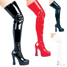 Thrill Thigh High Boot Shoes  Size 12 *** You can get more details by clicking on the image.