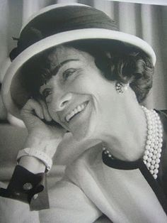 And on the most important day he created Coco Chanel...je taime!