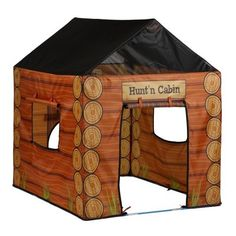 I can afford this one! Pacific Play Hunt N Cabin House Tent - Walmart - Tarazz