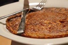 Recept voor gezonde en cleane pompoenpannenkoeken. Een goed vullende pannenkoek om als avondmaaltijd op te smikkelen!