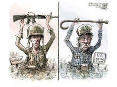 Political cartoon VA hospital Political and Editorial Cartoons - The Week