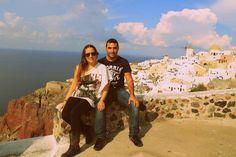 #LaFelicidadEsViajar donde sea y cuando sea pero no dejar nunca de descubrir @Vueling Airlines #santorini