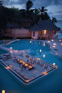 Soneva Fushi resort swimming pool