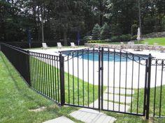 Wrought Iron Pool Gate