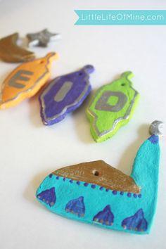 Ramadan and Eid Salt Dough Ornaments using Salaam Designs Muslim Holiday Cookie Cutter set