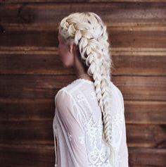 Platinum Blonde Braid