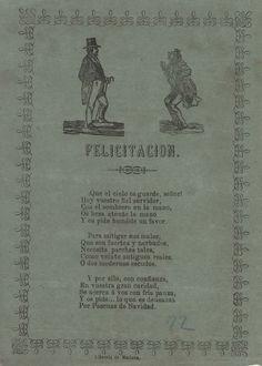 Colección de aguinaldos y felicitaciones navideñas del siglo XIX,  (1858-1880)
