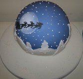 Christmas - my christmas night fall globe!!