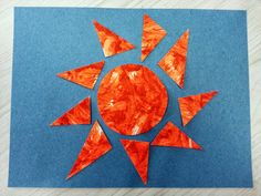 Kids will love the crunchy sound, the gritty texture, the zesty orange fragrance of painting with sand and kool-aid. Sun Projects, Projects For Kids, Crafts For Kids, Arts And Crafts, Summer Activities For Kids, Summer Kids, Art Activities, Sun Activity