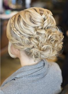 bridesmaid updos hairstyles