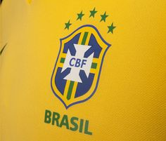 The jersey of the Brazilian national team has become so iconic in the world  of soccer that now no one really notices the crest 000a78e0eb2f8