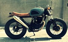Honda Tiger 200 Cafe Racer MM4 MalaMadre Motorcycles