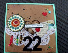 Carte 22ans Jeanne