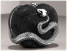 Judith Leiber Heart & Snake Miniaudiere http://www.purseblog.com
