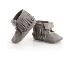kiddie boots. too cute. Mox Grey Boots