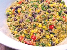 Recipe:+Quinoa+Mexi-Lime+Salad