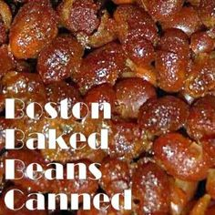 Pressure Canning Boston Baked Beans
