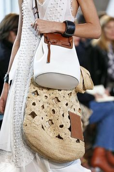 From double bags at Chanel to oversized totes and logo bags, these are all the best Spring 2019 bags spotted on the runways. Shop the best bags now. Fashion Bags, Fashion Accessories, Womens Fashion, Fashion Outfits, Oversized Beach Bags, Popular Bags, Best Bags, Beautiful Bags, Purses And Handbags
