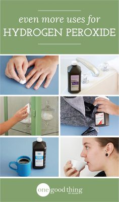 """Hydrogen peroxide has a variety of amazing uses inside and outside the home. It's no wonder I consider it """"magic."""" :-)"""