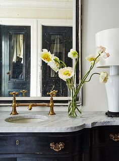 6 Creative And Inexpensive Unique Ideas: Brown Marble Counter Tops butcher block counter tops design.Cortz Counter Tops Tile bathroom counter tops washer and dryer. Faux Granite, Fixer Upper, South Shore Decorating, Master Bath Remodel, Bathroom Inspiration, Bathroom Ideas, Boho Bathroom, White Bathroom, Master Bathroom