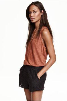 Camiseta de tirantes de lino | H&M