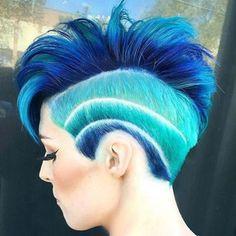 Ocean Waves for Summer Pixie Cut