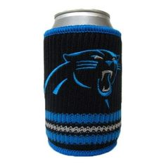 Carolina Panthers Woolie Can Cooler