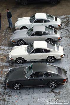 Collection of Early Porsche 911s #porsche