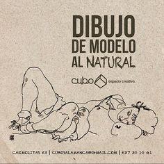 Volvemos con las poses de dibujo al natural en Cubo Espacio Creativo!