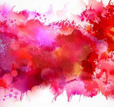 Multicolor watercolor splash background illustration vector 05 ...