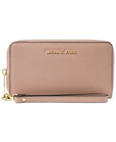 MICHAEL Michael Kors Jet Set Travel Large Flat Multifunction Wallet