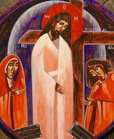 Crucifixion (contemporary) Anna Kolisnyk