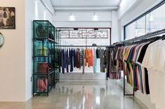 Take a Look Inside MSCHF's First Flagship Store: Opening the store with a series of limited items. Minimalist Mirrors, Retail Boutique, Retail Experience, News Space, Office Set, Three Floor, Put Together, Large Windows, Store Design