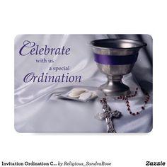 40th ordination anniversary invitation pinterest anniversary invitation ordination chalice host rosary stopboris Images