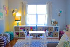 Playroom. Check out the whole project at http://www.jhillinteriordesigns.com/ #Jhillinteriordesigns #Sandiegointeriordesigner