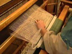 Nancy Today: Weaving Birdseye pattern VII