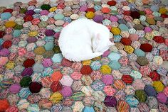 free knitting patterns, yarns and knitting supplies - Tiny Owl Knits The Beekeeper's Quilt