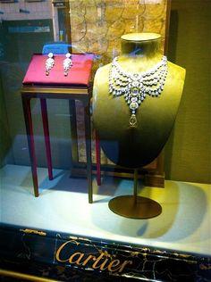 Window Display: Cartier shop window display