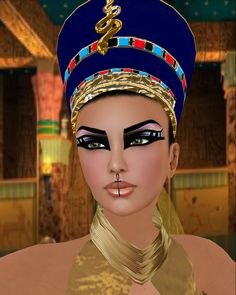 Egyptian Makeup Designs Pictures