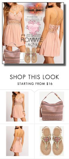 """""""//Romwe(Enjoy in the summer) set 3.//"""" by fahirade ❤ liked on Polyvore"""
