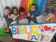 """Bibliopatio en la BIBLIOTECA ESCOLAR COLEGIO EDUCACIÓN INFANTIL """"RIO EBRO"""""""