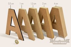 Best 11 1 letter made of solid cardboard of choice. Color is also calculated. No working time – SkillOfKing. Cardboard Letters, Diy Letters, Letter A Crafts, Wooden Letters, Diy Gift For Bff, Diy Gifts, Diy And Crafts, Paper Crafts, Cardboard Sculpture