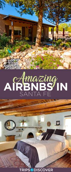 Santa Fe is a hip and artsy city that lies where the desert meets the forest in New Mexico. Make your stay in town even more authentic and memorable by staying in a local Airbnb. Backpacking Europe, Europe Travel Tips, Travel Usa, Europe Packing, Traveling Europe, Packing Lists, Travel Deals, Travel Hacks, Travel Packing