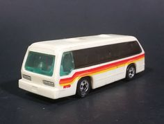 """1981 Hot Wheels Mattel Rapid Transit """"Get The News First In The City Gazette"""" City Bus Toy https://treasurevalleyantiques.com/products/1981-hot-wheels-mattel-rapid-transit-get-the-news-first-in-the-city-gazette-city-bus-toy #Vintage #Rare #Alert #1980s #80s #HotWheels #Mattel #RapidTransit #PublicTransit #CityBus #News #Newspaper #Gazette #DieCast #Metal #Toys #ManCave #Collectibles"""