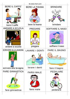 Learning Italian Language ~ verbi