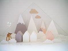 Inspiration for Advent Calendar # Advent Calendar # Calendrier de l'Avent # Diy