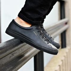 Black low sneaker from Axel Arigato www.axelarigato.com #axelarigato