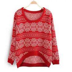 Suéter  Tricô Em Lã De Algodão Motivo Arabescos - R$ 260,00
